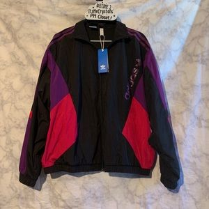 Adidas Track Windbreaker Jacket Size Large